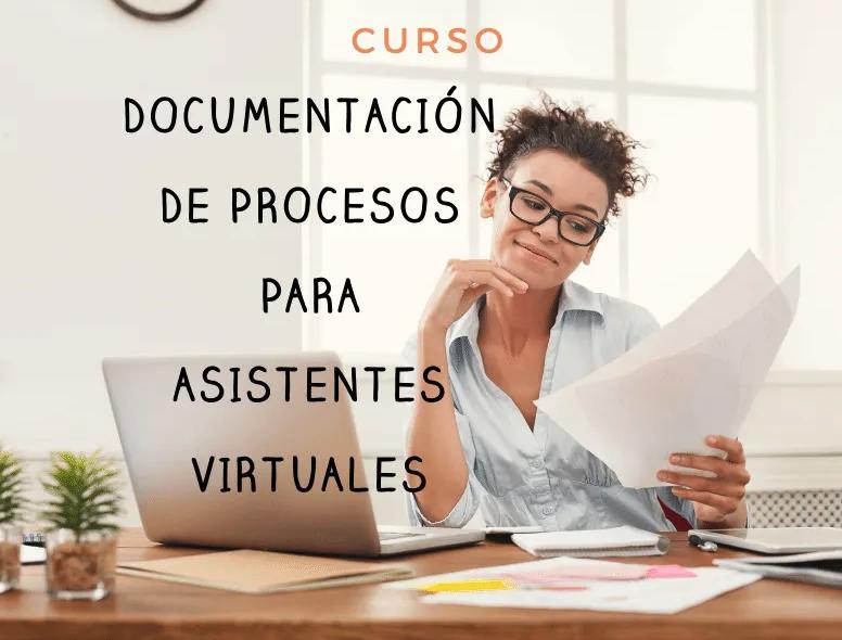 documentación de procesos para asistentes virtuales